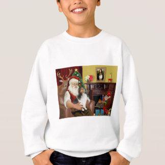 Perro pastor de Shetland de Santa (l) Sudadera