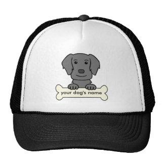 Perro perdiguero Plano-Revestido personalizado Gorros