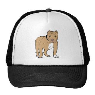 Perro personalizado de Pitbull del americano Gorros