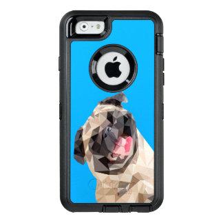 Perro precioso de las fregonas funda OtterBox defender para iPhone 6
