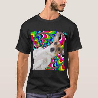 Perro psico camiseta