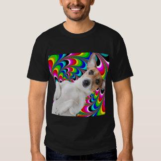 Perro psico camisetas