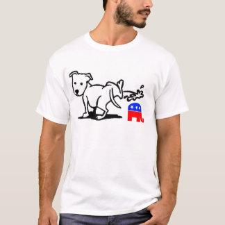 Perro republicano camiseta