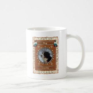Perro - taza de café clásica de la lealtad
