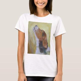 Perro vivaracho camiseta