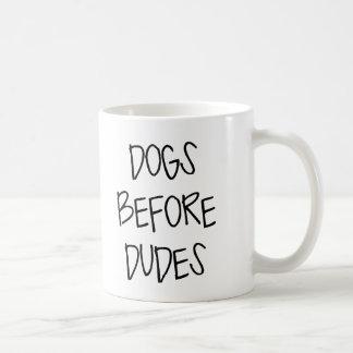 Perros antes de tipos taza clásica