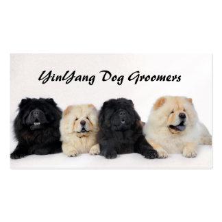 Perros chinos de YingYang Tarjetas De Visita