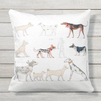Perros de la almohada de Egipto antiguo