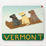 Perros de trineo de Vermont Mousepad - Stephen Hun Tapetes De Ratón