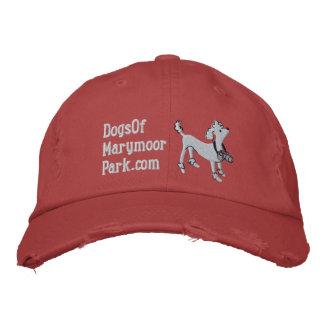 Perros del gorra de Marymoor - blanco