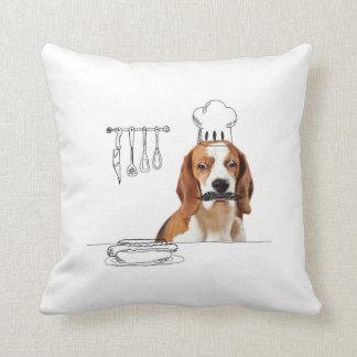Perros y Doodles - almohada del perro del cocinero