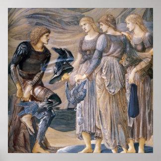 Perseus y las ninfas de mar poster
