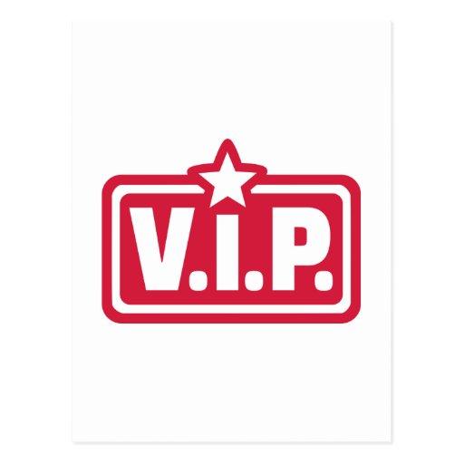 Persona muy importante del VIP Postal