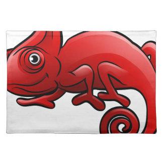 Personaje de dibujos animados de los animales del salvamanteles