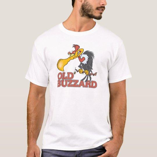 personaje de dibujos animados divertido del halcón camiseta