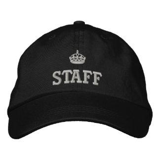 Personal con el logotipo de la corona gorro bordado