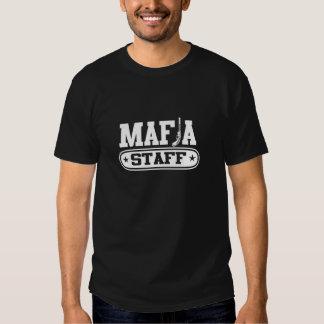 Personal de la mafia camiseta