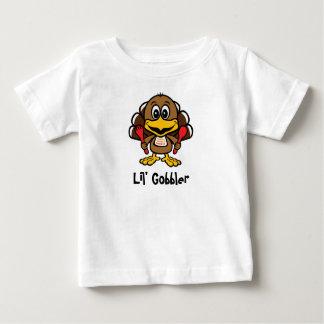 [Personalice] camisa del bebé del Gobbler de Lil