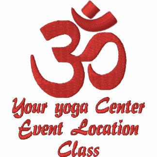 Personalice el bordado de la yoga de la espiritual polo bordado