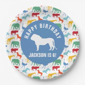 Personalice el cumpleaños de muy buen gusto del plato de papel