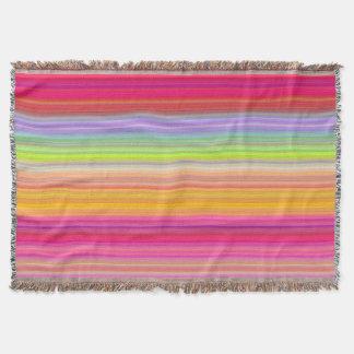 Personalice - el fondo multicolor de la pendiente manta