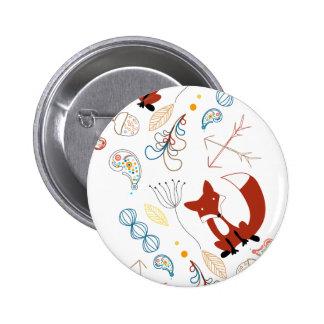 Personalice el modelo moderno del arbolado del Fox Pins