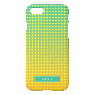 Personalice el verde abstracto conocido Ombre de Funda Para iPhone 7