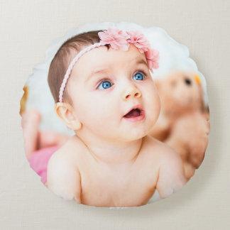 Personalice esta almohada rosada linda de la foto