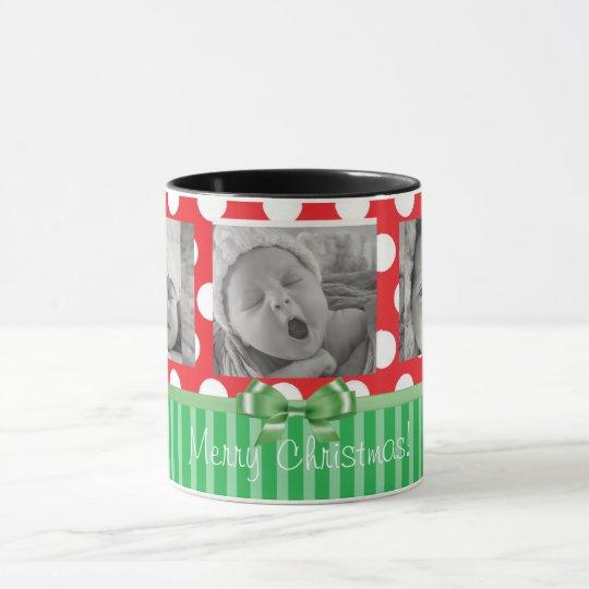 Personalice esta taza de café del navidad