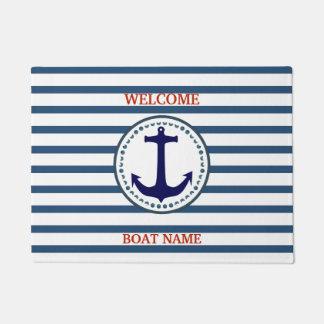 Personalice la raya náutica del nombre del barco