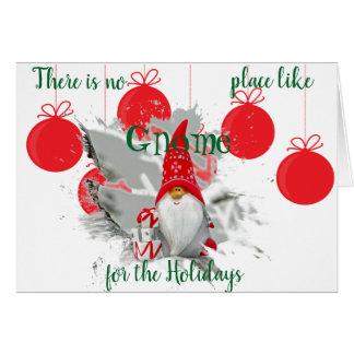 Personalice la tarjeta de felicitación del navidad