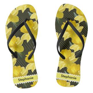 Personalice: Narcisos florales del extracto de la Chanclas