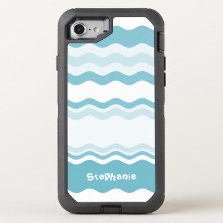 Personalice:  Sombras del modelo de ondas de la Funda OtterBox Defender Para iPhone 8/7
