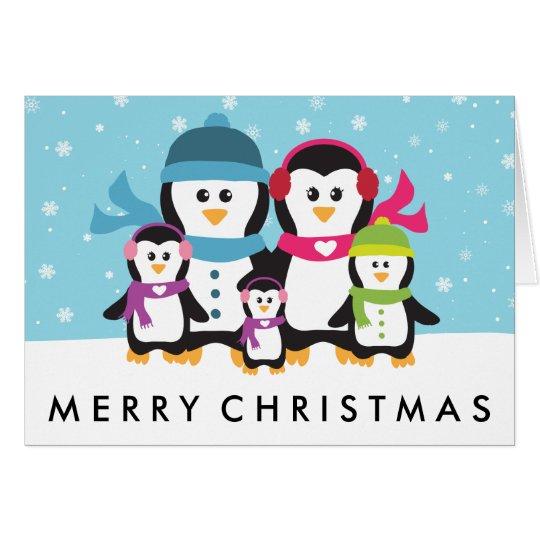 Personalice un día de fiesta del navidad de la tarjeta pequeña