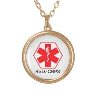 Personalizable alerta médico del collar CRPS de
