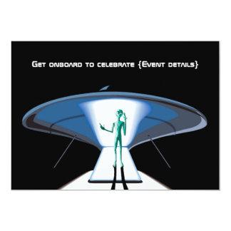 Personalizable corporativo del espacio/adulto invitación 12,7 x 17,8 cm