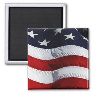 Personalizable de la bandera americana imán