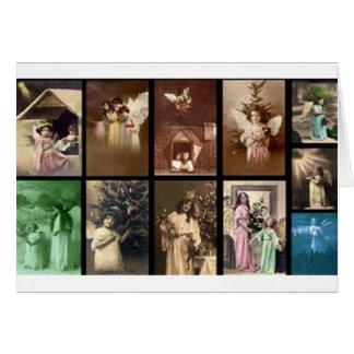 Personalizable de los ángeles I del día de fiesta Tarjeta De Felicitación