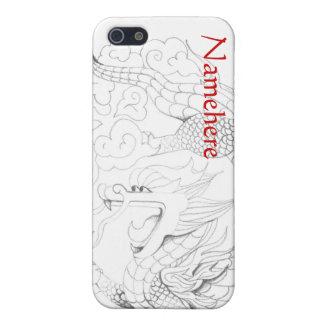 Personalizable: Dragón del Año Nuevo iPhone 5 Cárcasa