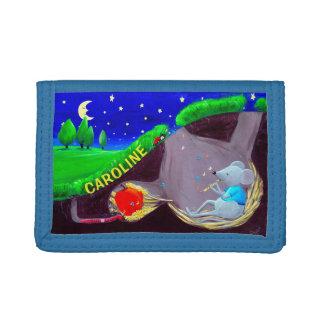 Personalizable embroma la cartera del ratón del