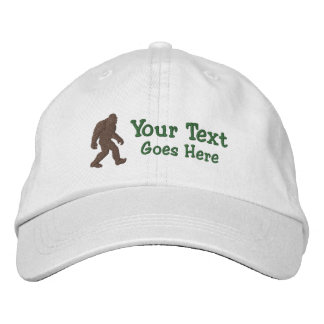 Personalizable ido Bigfoot de Squatchin Gorra De Beisbol Bordada