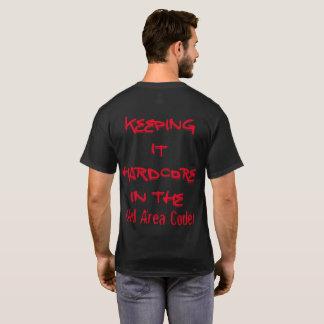 Personalizable oscuro básico de la camiseta de los