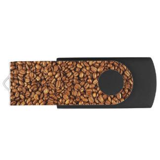 Personalizable USB de los granos de café