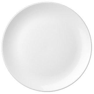 """Personalizado 10,75"""" placa decorativa de la plato de porcelana"""