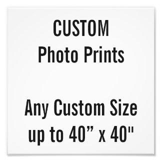 """Personalizado 10"""" x 10"""" impresión de la foto (o"""