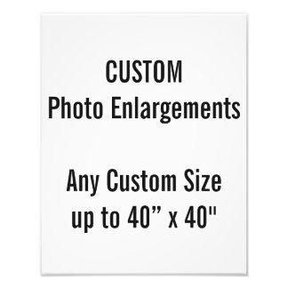 """Personalizado 11"""" x14"""" ampliación de la foto hasta"""