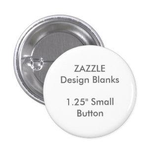 """Personalizado 1,25"""" pequeñas plantillas redondas chapa redonda de 2,5 cm"""