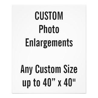 """Personalizado 20"""" x24"""" ampliación de la foto hasta"""