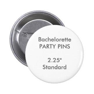 """Personalizado 2,25"""" Pin redondo estándar del Chapa Redonda De 5 Cm"""
