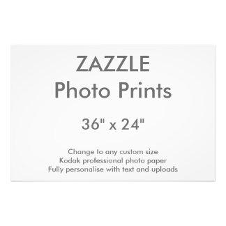 """Personalizado 36"""" de Zazzle x 24"""" impresión 91 x Impresión Fotográfica"""